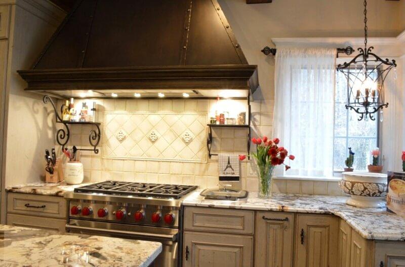 риси кухні в стилі прованс