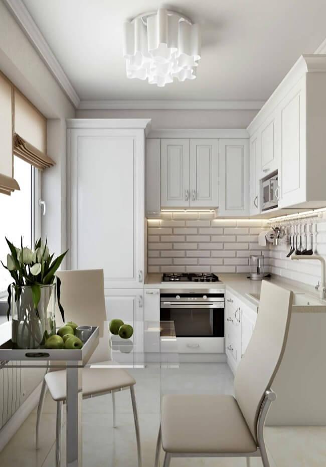 маленька кухня прованс