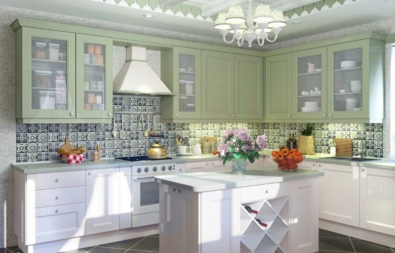 оливкова кухня прованс