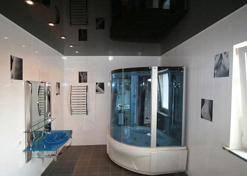 требования к потолкам в ванной