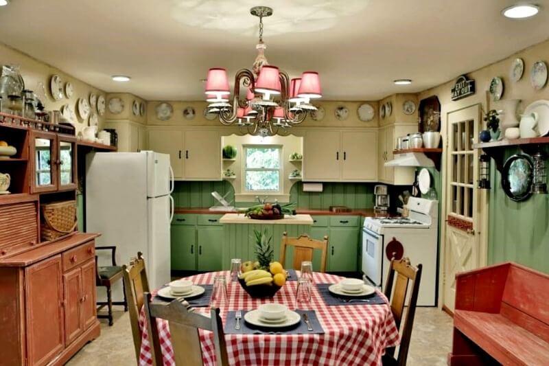 прованський стиль кухня декор