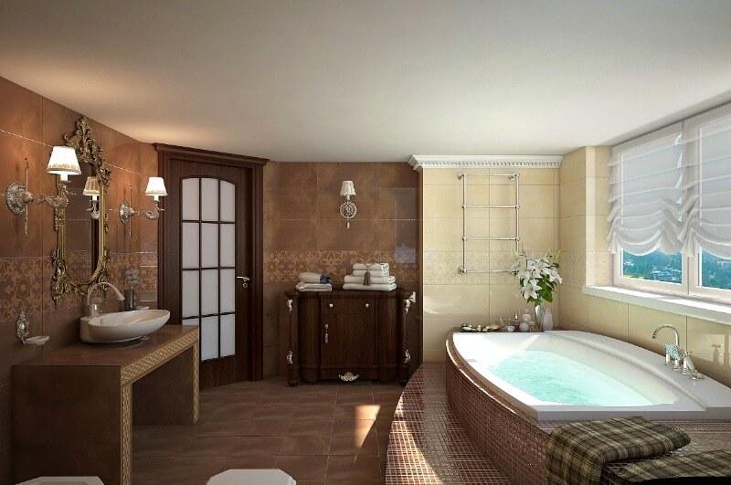 шпаклевка и покраска потолка в ванной