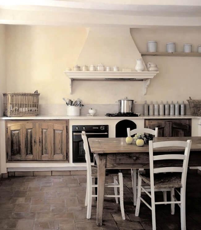 штукатурка стін на кухні