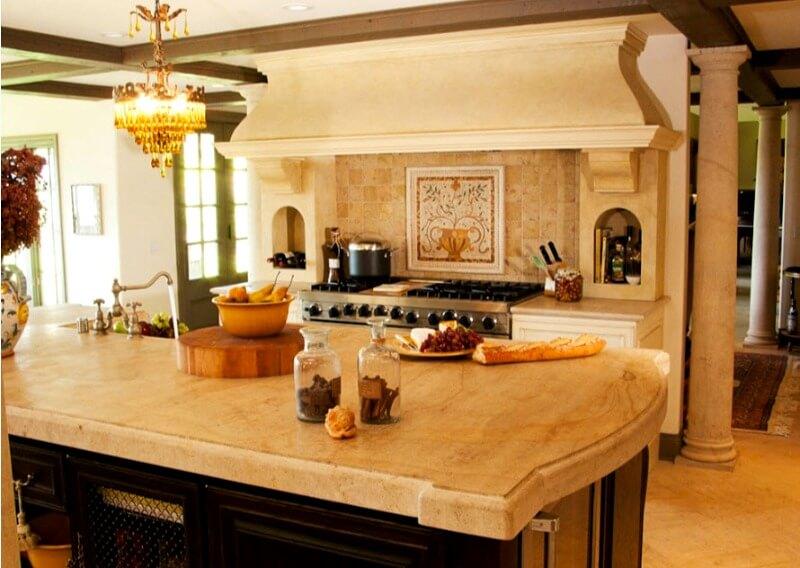 світло на кухні прованс