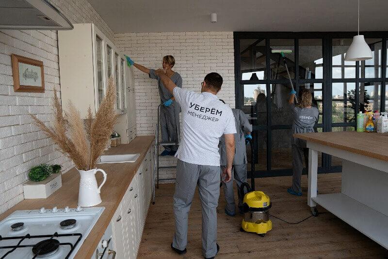 уборка квартиры после пожара
