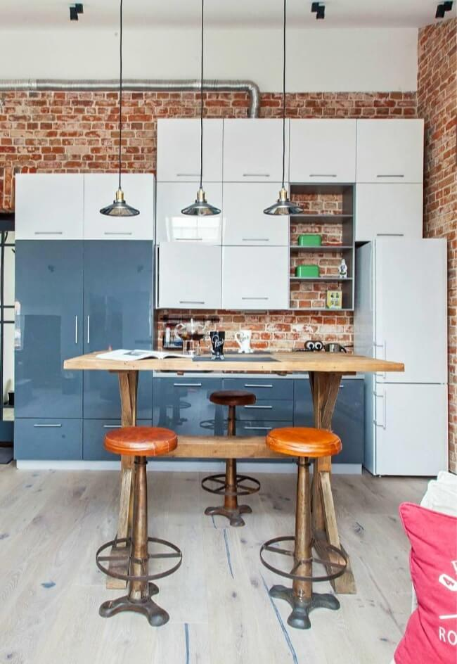 меблі на кухні лофт