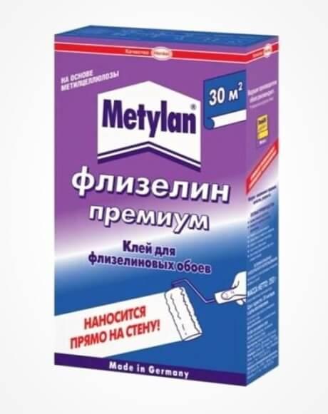 metylan клей для флізелінових шпалер