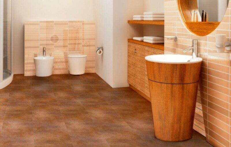 підлога у ванній
