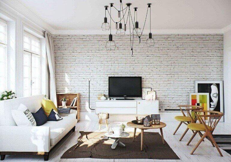 белая комната лофт