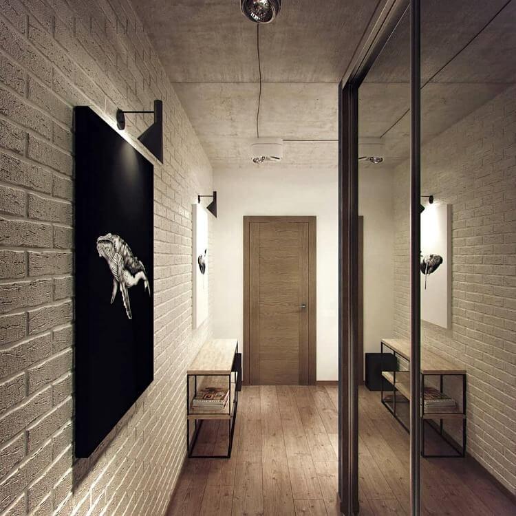 лофт коридор