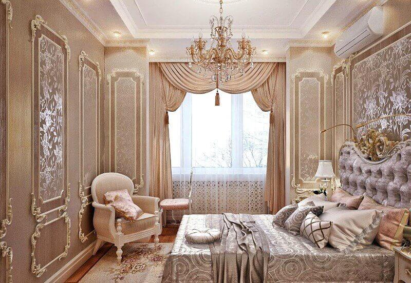 дизайн штор классический стиль