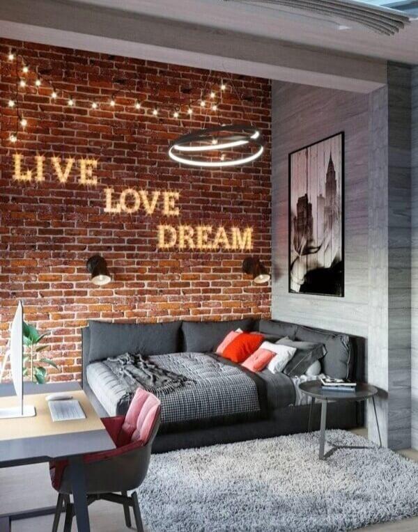 комната для подростка лофт стиль