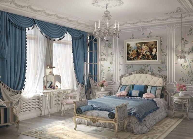 классические прямые шторы