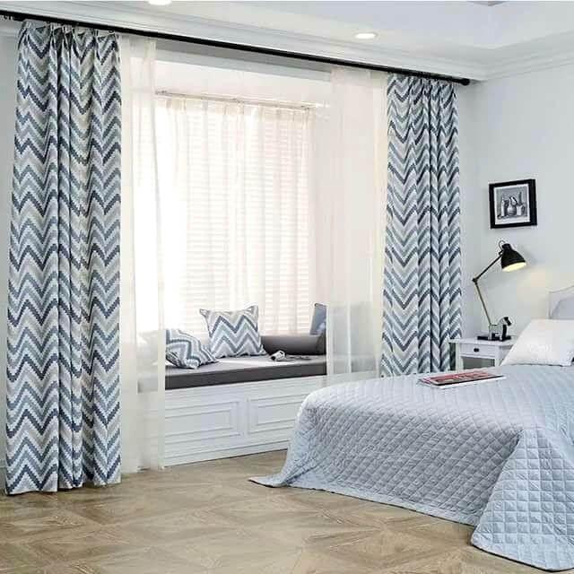 шторы в спальню узоры