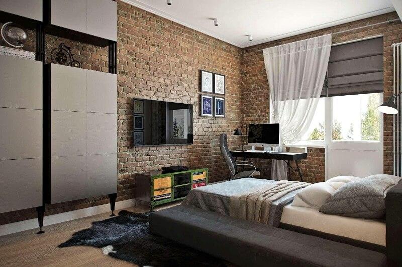 дизайн спальни-лофт для ребёнка