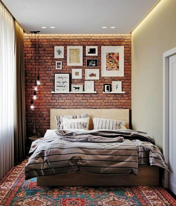 постеры спальня лофт
