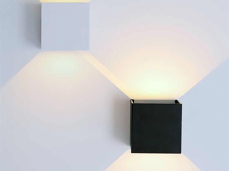 настенный светильник плоский