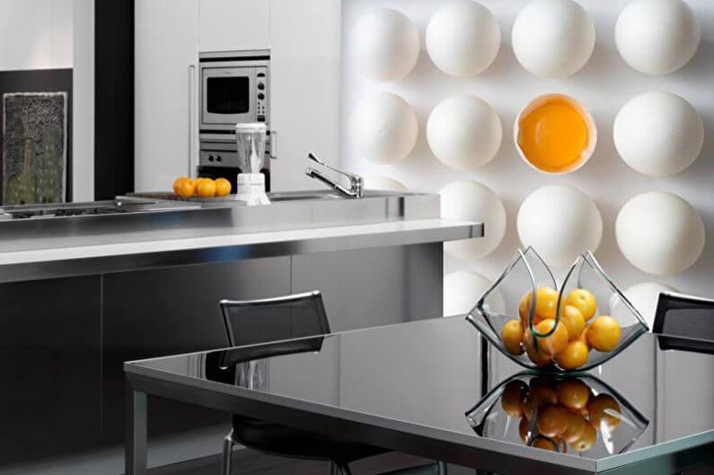 натюрморт на фотообоях для кухни