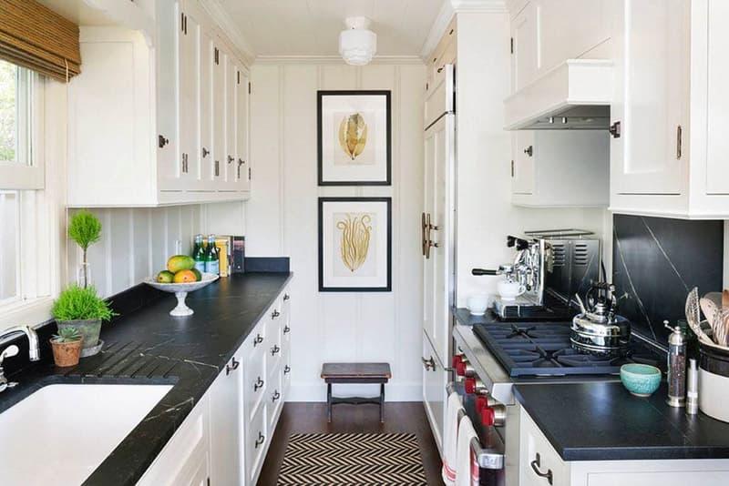 Дизайн кухни с использованием картин