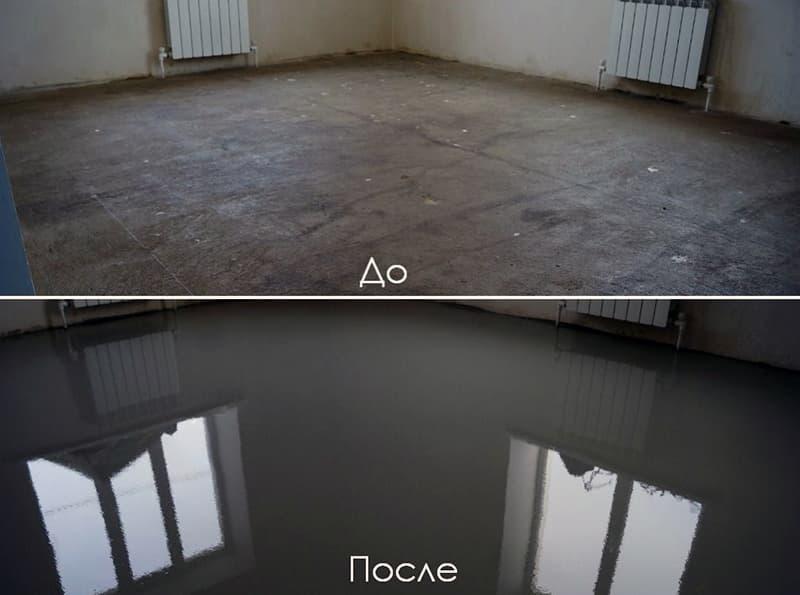 Готові суміші для вирівнювання підлоги