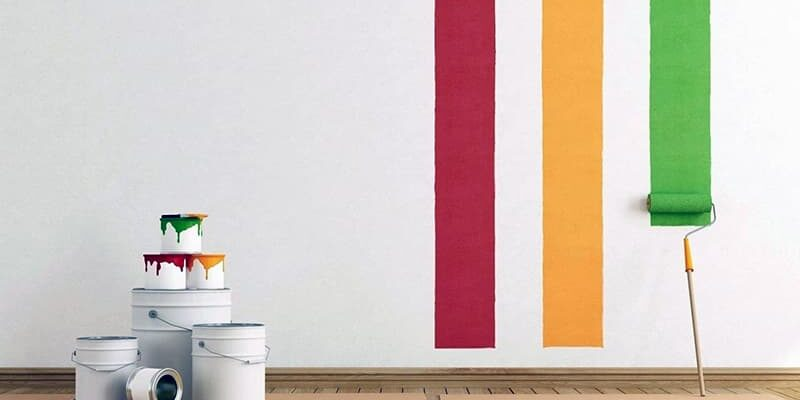 Как покрасить стены