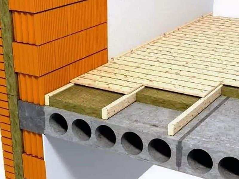 Как утеплить бетонные полы