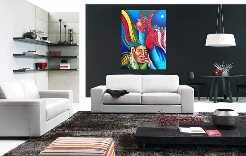 Картини для кімнат в стилі модерн