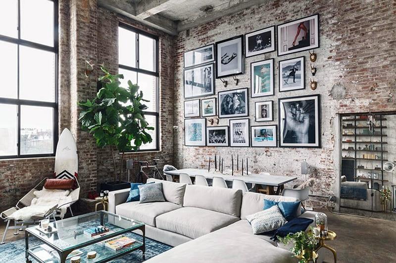 Картины для комнаты в стиле лофт