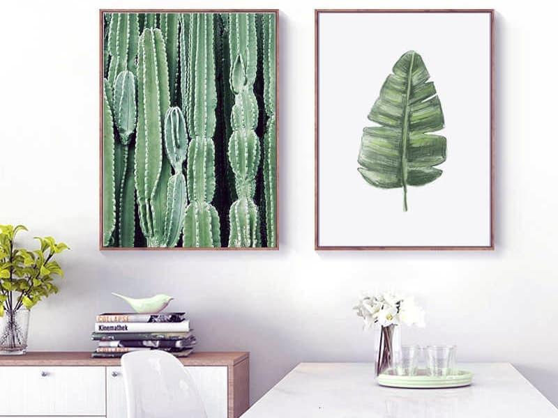 Картини з зеленими відтінками для кімнати