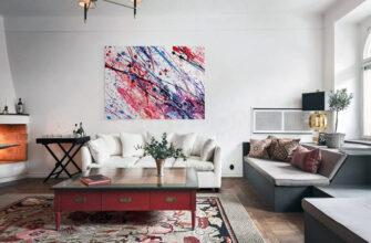 Картини в інтер'єрі - основні тренди і правила розміщення полотен