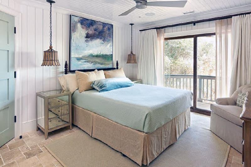Картини в інтер'єрі спальні
