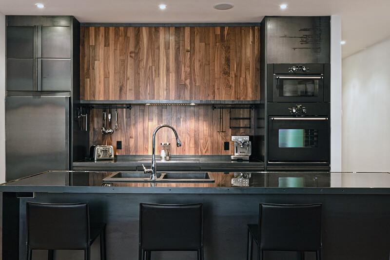 Ламинированный кухонный фартук