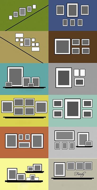 Основні правила розміщення картин в кімнатах