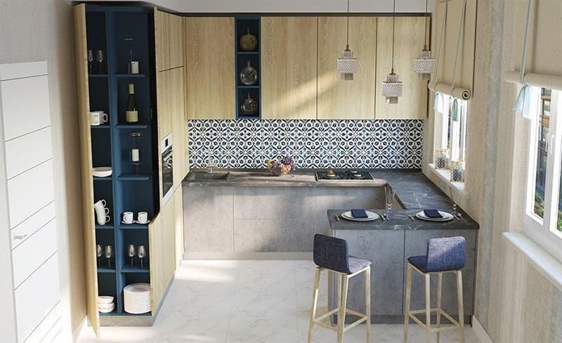 Пример экотренда в дизайне комнаты