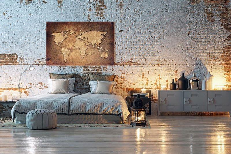 Приклад картини для кімнати в стилі лофт