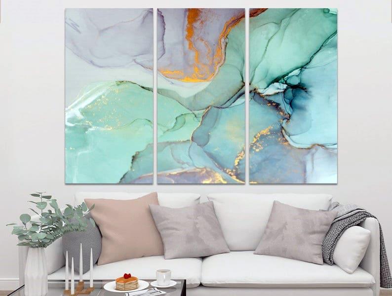 Приклад модульної картини на стіні