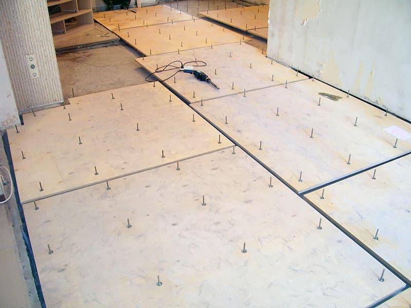 Приклад теплоізоляції підлоги в приватному будинку