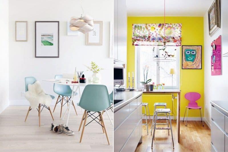 Яркие картины для оформления дизайна кухни