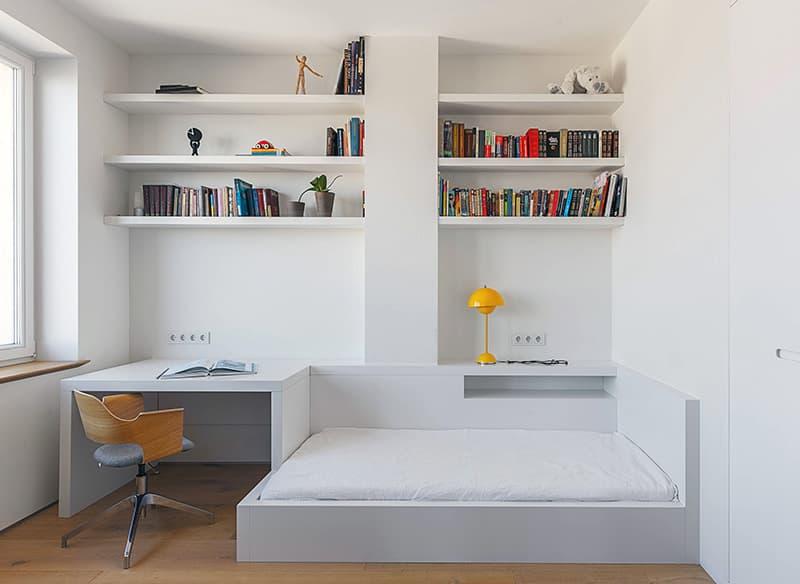 Акуратна меблі для кімнати з мінімалістичним дизайном