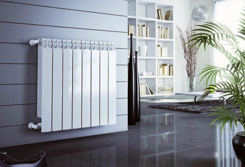 Алюминиевый радиатор для дома
