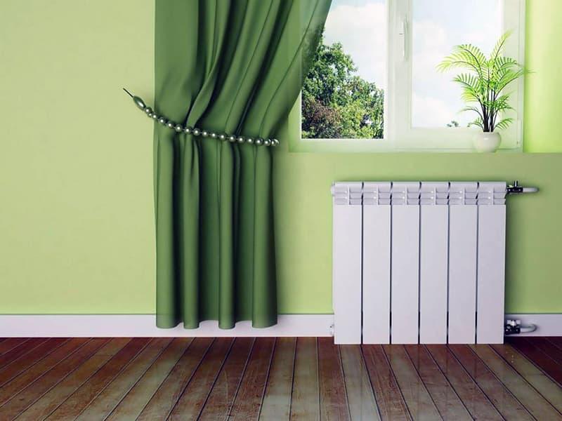 Биметаллической радиатор для дома