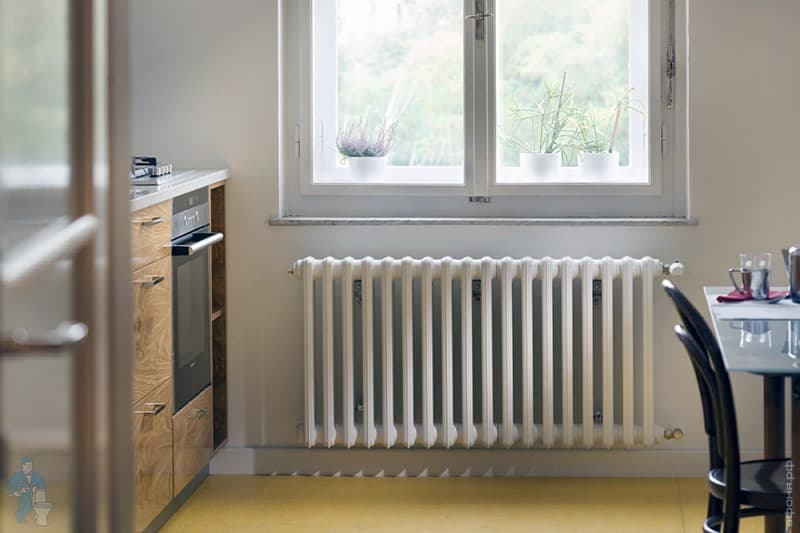 Чугунные радиаторы для дома