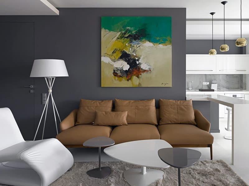 Декорування кімнати в мінімалістичному стилі