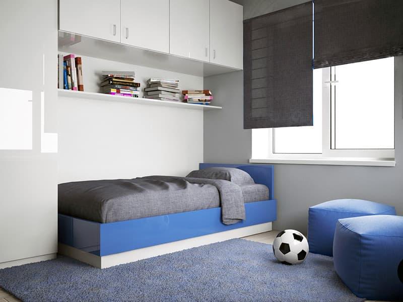 Дитяча кімната з мінімалістичним дизайном