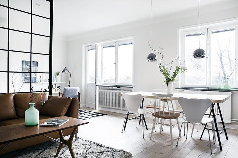 Дизайн кімнати в скандинавському мінімалістичному стилі