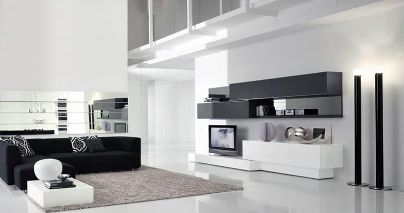 Дизайн квартири в стилі мінімалістичного хай-тек