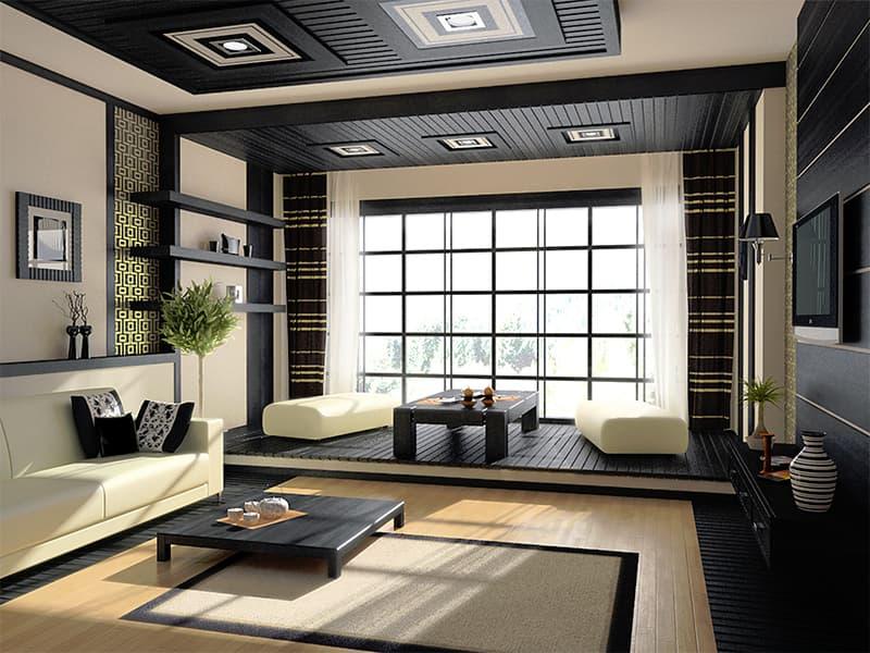 Дизайн квартири в японському мінімалістичному стилі