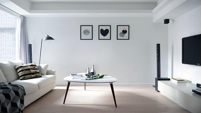 Дизайн в стиле скандинавского минимализма для квартиры