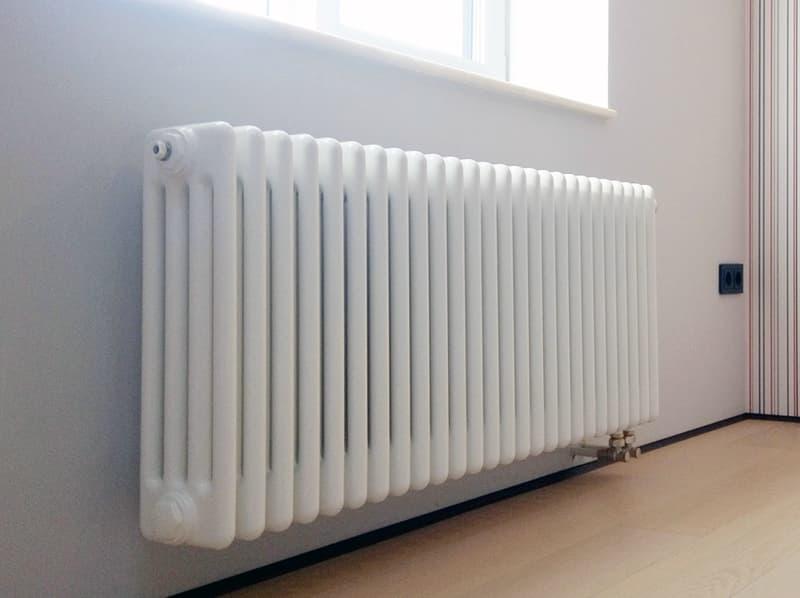 Горизонтальный радиатор для дома