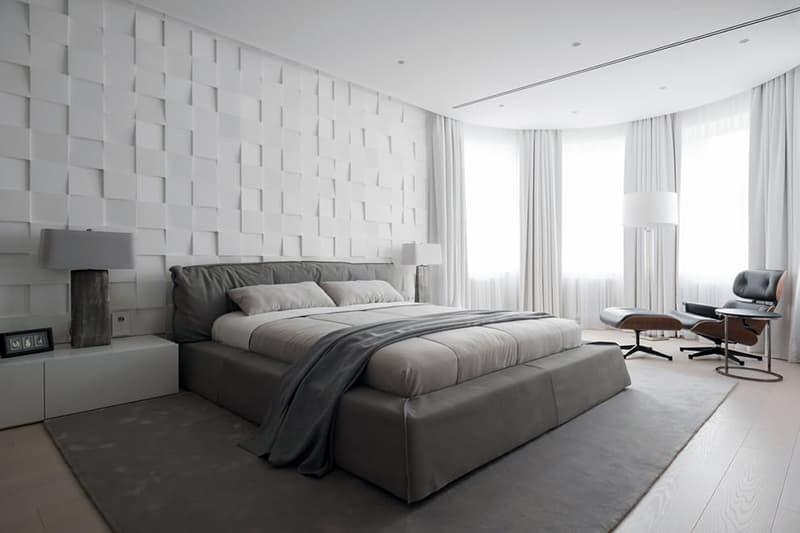 Інтер'єр спальні в мінімалістичному стилі